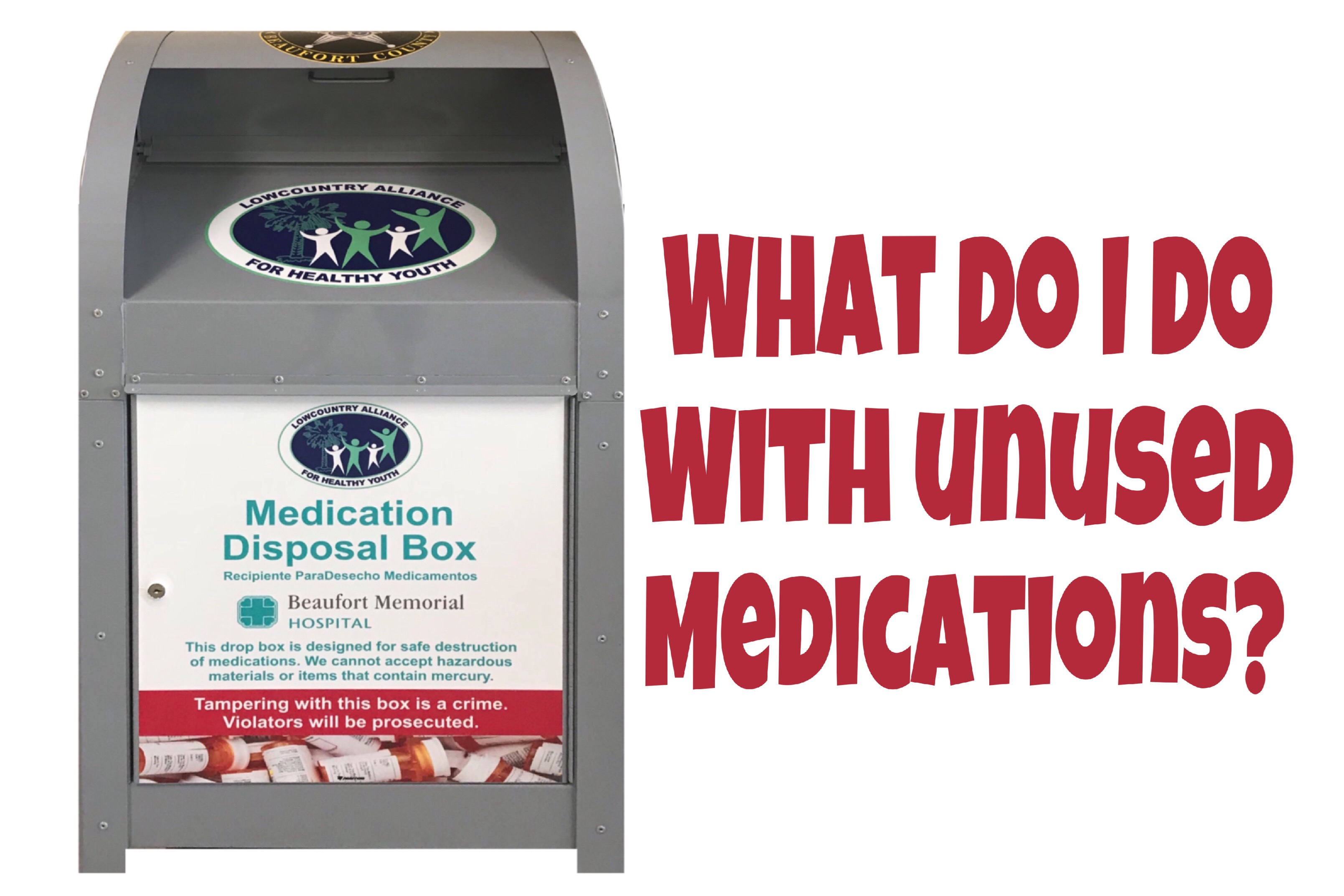 What to do with unused medications